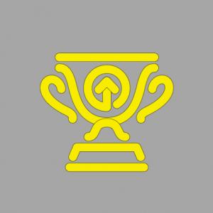 Pokal für digitale Transformation und Mitarbeiterengagement
